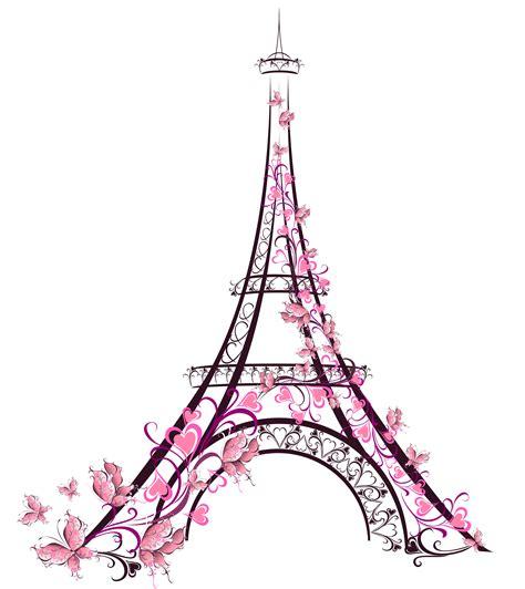 cute eiffel tower drawing clip art library