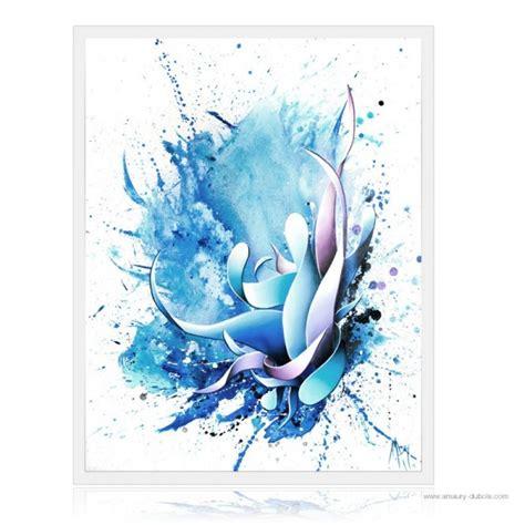 peinture abstraite moderne bleu peinture 224 l huile sur toile quot stain ii quot