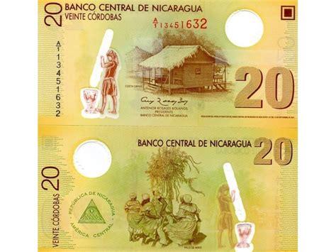 NICARAGUA Nikaragva 20 Cordobas 2007/09 UNC Polymer ...