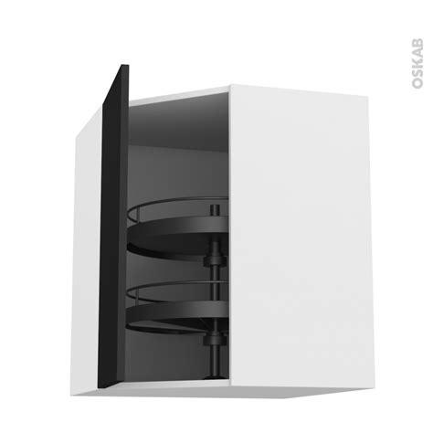 tourniquet meuble angle cuisine meuble de cuisine angle haut ginko noir tourniquet 1 porte