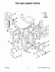 Whirlpool Wfw5620hw0 Parts List