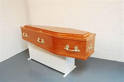 Plain Coffin Coffins Side Oak Solid