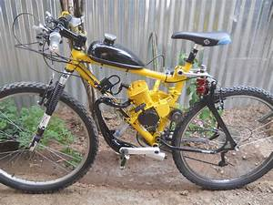 For Sale  Auction  21 Speed Full Suspension 66cc Gas Bike
