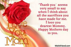 Mother's Day Messages - Page 1