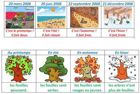 fle mois et saisons