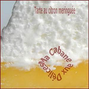 Recette Tarte Citron Meringuée Facile : recette tarte au citron meringu e facile la cuisine de djouza ~ Nature-et-papiers.com Idées de Décoration