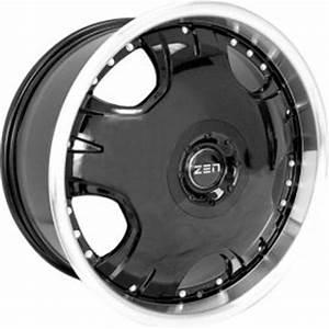 Zen Dodge Neon 1994 2004 MB5 Black Wheels Rims