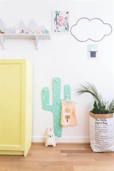 patere chambre fille le cactus with patere chambre fille