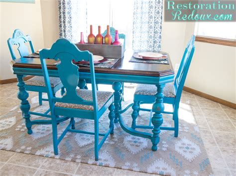 25 bold and colorful painted furniture projects the