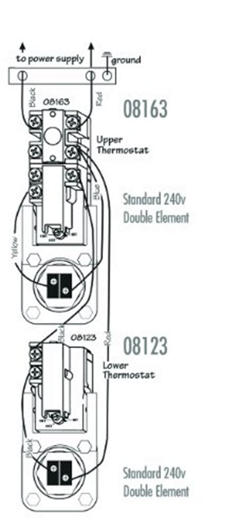 Therm O Disc Wiring Diagram by Camco 08127 Lower Water Heater Thermostat Thermodisc