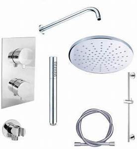 Set De Douche Encastrable : nobili cbarre de douche free shower chrom ~ Edinachiropracticcenter.com Idées de Décoration