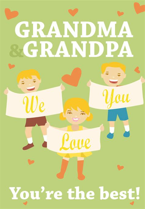 youre   grandparents grandparents day card