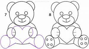 How To Draw a Teddy Bear (Step by Step Pictures)   Cool2bKids