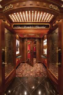 Luxury Home Theater Entrance
