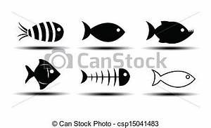 Vector of Fish Icons csp15041483 - Search Clip Art ...