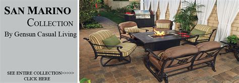 view all cast aluminum patio furniture seating sets