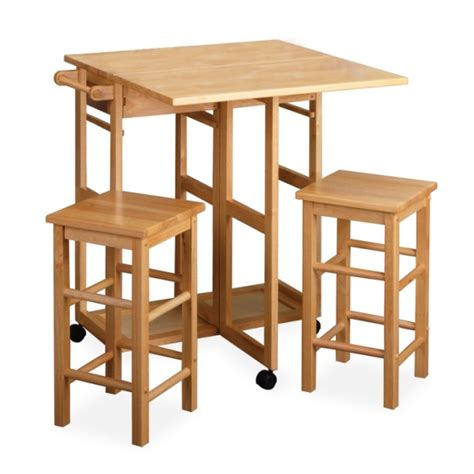 island tables for kitchen with stools winsome space saver square drop leaf kitchen island table