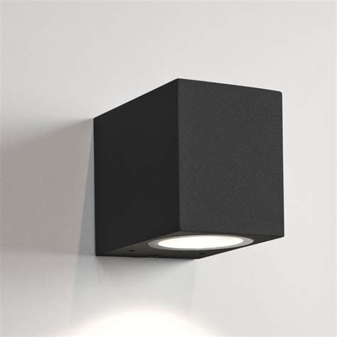 astro 7126 chios 80 black exterior wall light at love4lighting