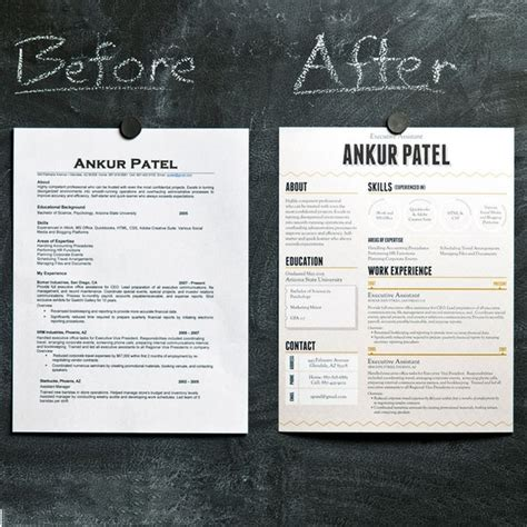 How To Make My Resume More Appealing by The Hill Redesigning Your Resume The Work Edit By
