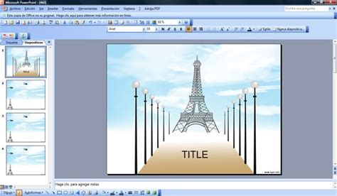 paris powerpoint template