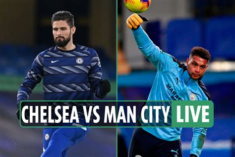 Chelsea vs Man City LIVE: Stream, score, TV channel, team ...