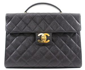 chanel vintage briefcase reference guide spotted fashion