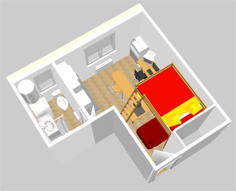 home 3d cuisine modélisation 3d infernal quack