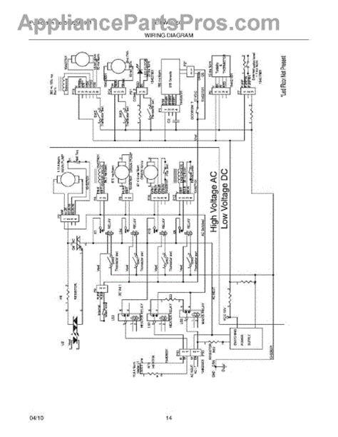 Parts For Electrolux Eidwgsa Wiring Diagram