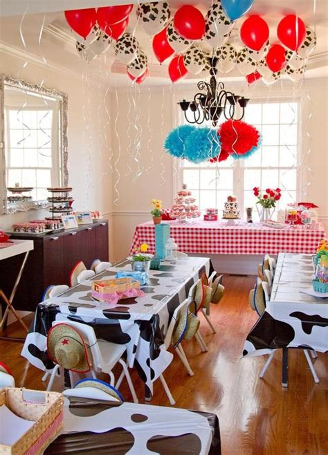 coolest farm birthday party home party ideas