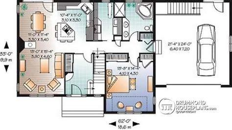 elegant  bedroom house plans  double garage  home plans design