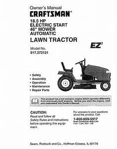Craftsman 26 Hp 54 Lawn Tractor Parts Manual