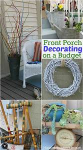 Front Porch Decorating Ideas on a Budget - Hoosier Homemade
