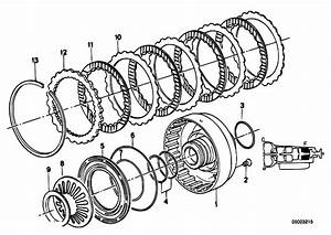 Original Parts For E34 520i M20 Sedan    Automatic Transmission   Zf 4hp22 24 Brake Clutch F