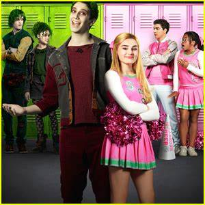 Meg Donnelly Milo Manheims New DCOM Zombies Gets Cool