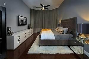 Grand Tapis Chambre : 50 exemples de la chambre coucher masculine ~ Teatrodelosmanantiales.com Idées de Décoration