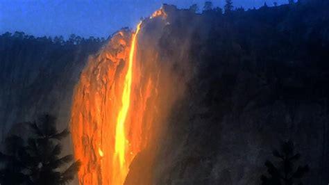 Stunning Firefall Mesmerizes Yosemite National Park