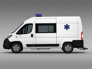 Van Peugeot : peugeot boxer van ambulance 2015 3d model ~ Melissatoandfro.com Idées de Décoration