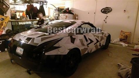 1 52x30m matte glossy white black grey camo full car wrap tuning air release arctic camouflage