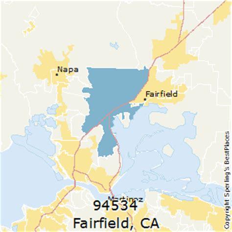 places    fairfield zip  california