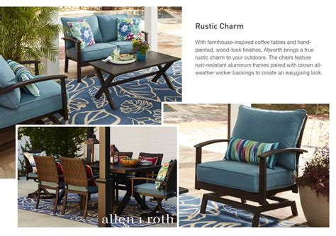 Allen Roth Patio Furniture Atworth by Shop The Atworth Patio Collection On Lowes