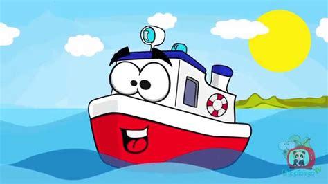 Barco Dibujo Infantil by Un Barco Chiquitito Canciones Infantiles Espa 241 Ol Youtube