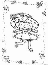Strawberry Pages Hula Hoop Coloring Shortcake Lola Bunny Printable Cartoon Colouring Cake Short Drawing Printing Charlotte Dessin Characters Backyardigans Heart sketch template