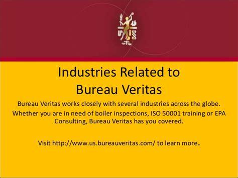 industries related to bureau veritas