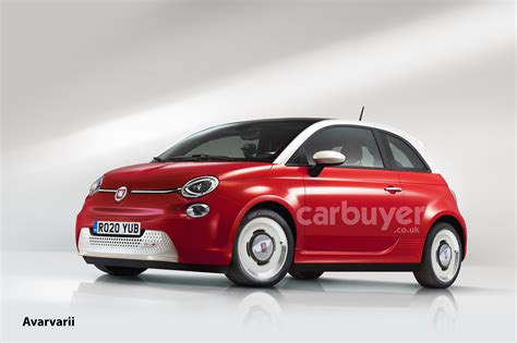 The New Fiat 500 by All New Fiat 500 Will Debut In 2020 With Electric Power