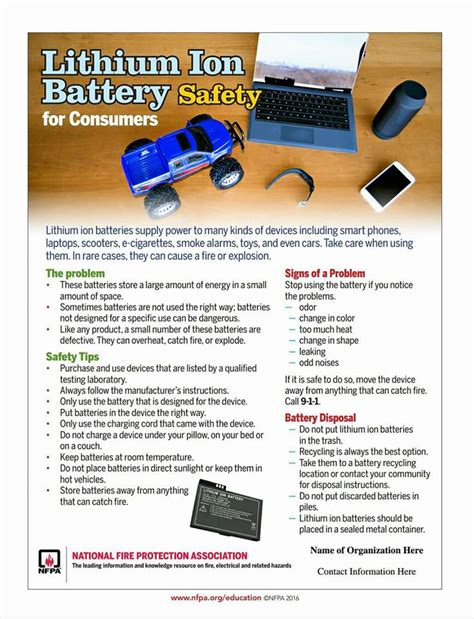 Lower Eastern Shore News: Lithium Ion Battery Safety