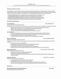 the perfect executive assistant resume recentresumescom With executive assistant resume template