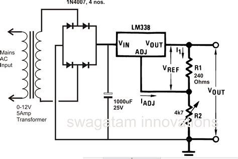 12 volt 30 power supply schematic get free image about