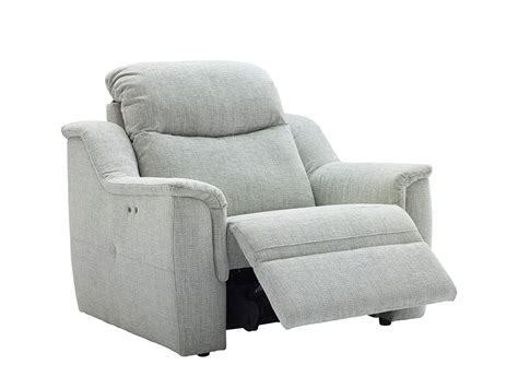 Firth Fabric Large Recliner Armchair Priced In W Grade