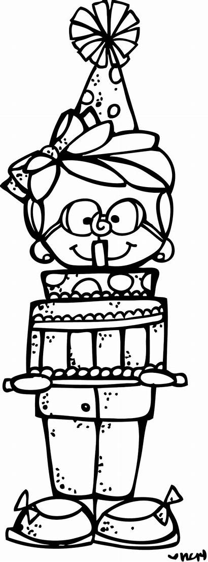 Birthday Melonheadz Clip Week Clipart Giveaway Coloring