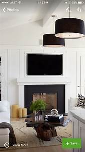 Black, And, White, Fireplace